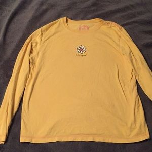 Life is good long sleeve shirt
